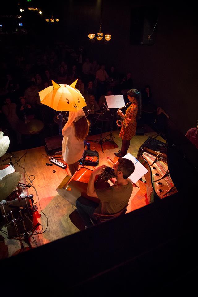 Damsel Talk - en Thelonious Club - foto Andrea Romio