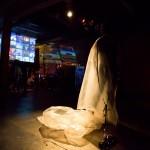Bruno Comas performer - Encuentros Superpuestos - Residual fotos Andrea Romio
