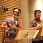 Pablo y Mauro - Estudio Moebio - 2do disco foto Andrea Romio